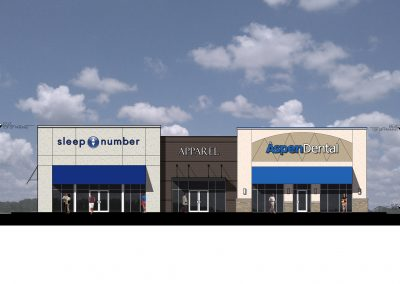 Front Elevation of Flowood Crossroads in Flowood, MS