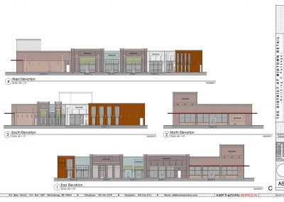 Front Elevation of District at Midtown Building C in Hattiesburg, MS