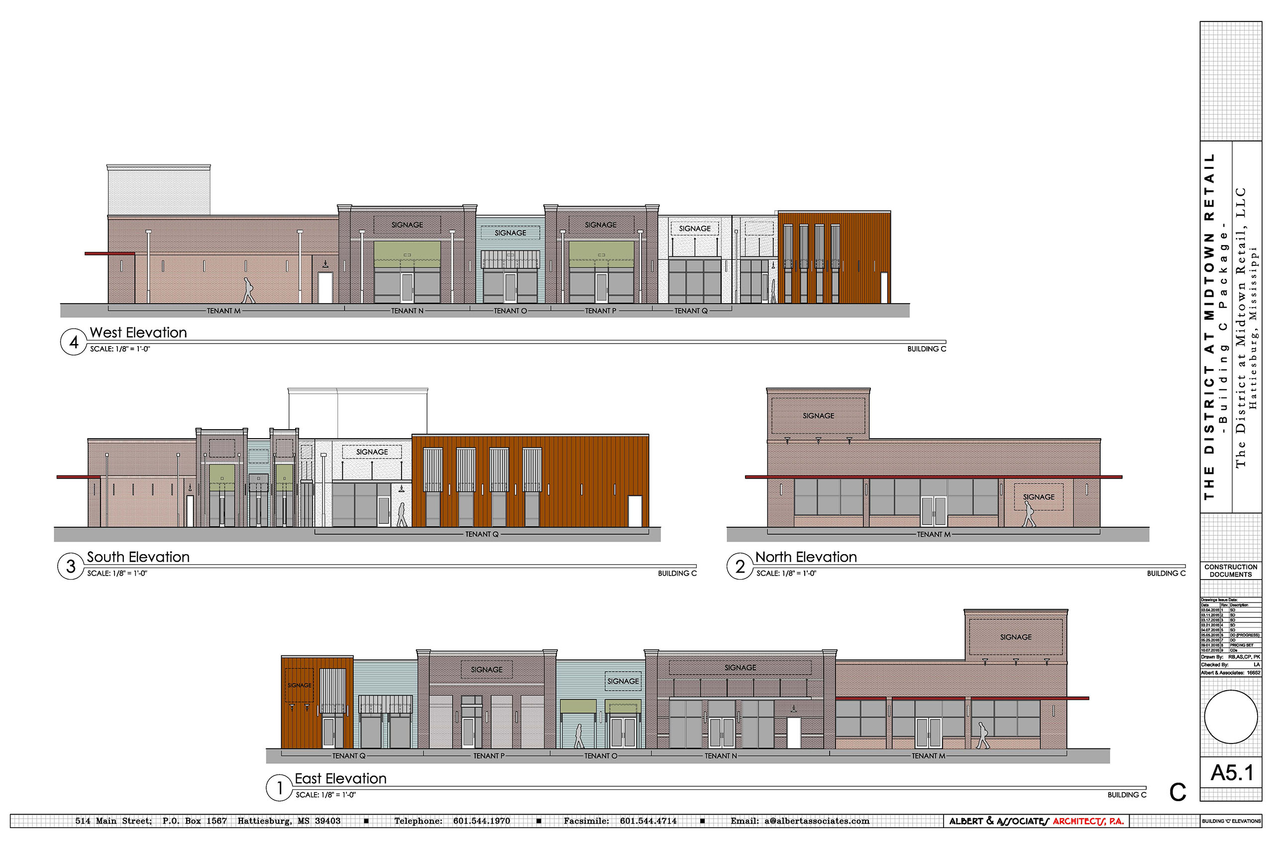 Front Elevation Of Furniture Showroom : District at midtown terra equities