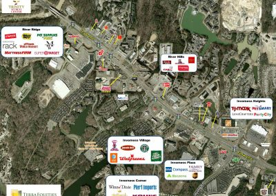 Aerial of The Shops at River Ridge in Birmingham, AL