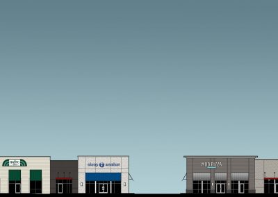 Front Elevation of Ridgeside Station in Huntsville, AL