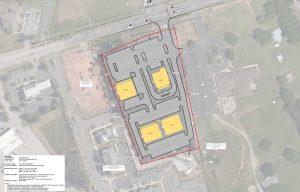 Concept of Five Forks Village in Greenville (Simpsonville), SC